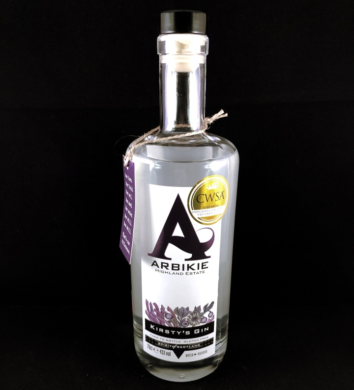 Gin Review – Arbikie Gin #ScottishGin